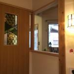 玄関 ステンドグラス